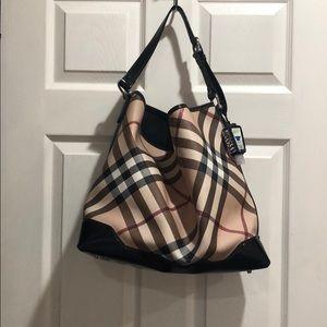 Burberry* Bucket Bag*